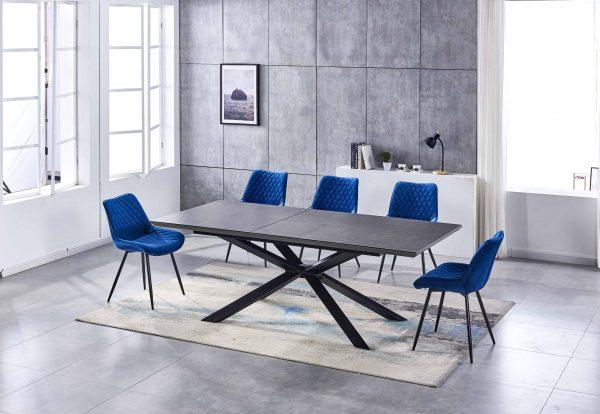 grey ceramic table