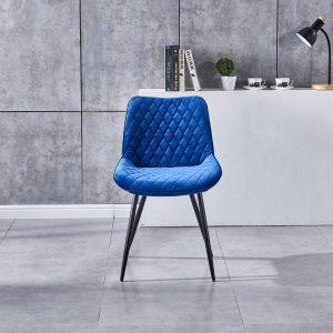 royal blue dining chair