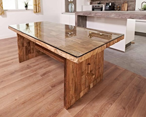Dining Table From Reclaimed Teak