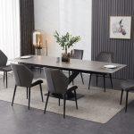 grey table 6velvet