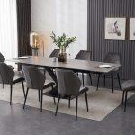 grey table8 velvet
