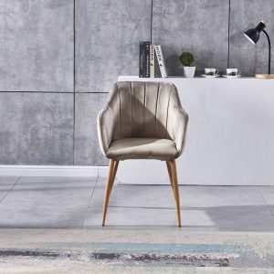 modern dining chair cappuccino colour