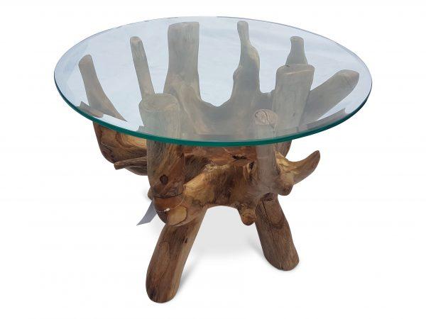 Teak Root Coffee Table round 60 cm